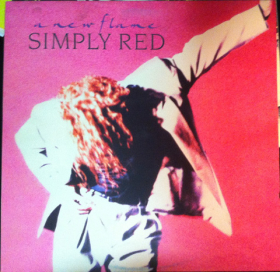 Simply Red (1989) ‎– A New Flame