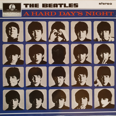 The Beatles (1964-3) ‎– A Hard Day's Night