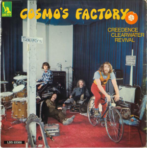 Creedence Clearwater Revival (1970) ‎– Cosmo's Factory