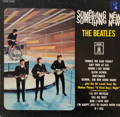The Beatles (1964-4) ‎– Something New