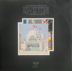 Led Zeppelin (1976) ‎– The Soundtrack From The Film The Song Remains The Same