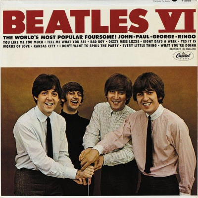 The Beatles (1965-1) ‎– Beatles VI