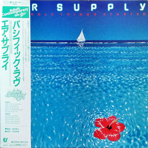 Air Supply (1980) ‎– The Whole Thing's Started
