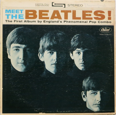 The Beatles (1964-1) ‎– Meet The Beatles!