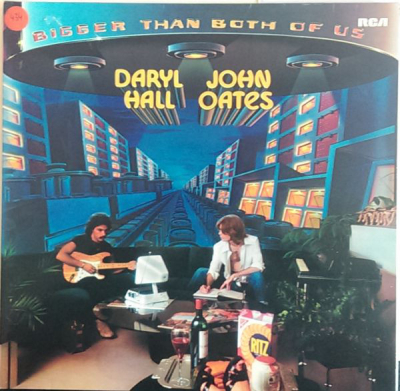 Daryl Hall & John Oates (1976) ‎– Bigger Than Both Of Us
