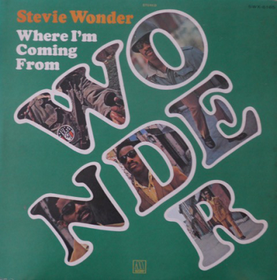 Stevie Wonder (1971) - Where I'm Coming From