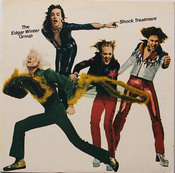 The Edgar Winter Group (1974) ‎– Shock Treatment