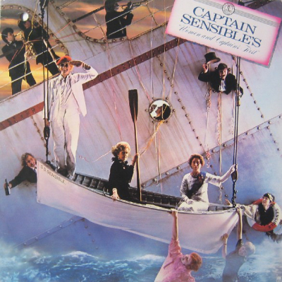 Captain Sensible (1982) ‎– Women And Captains First