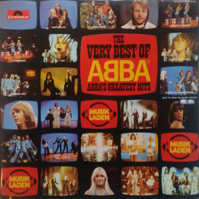 ABBA (1976) ‎– The Very Best Of ABBA (ABBA's Greatest Hits)
