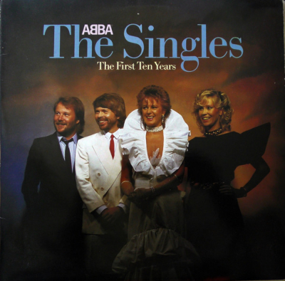 ABBA ‎– The Singles - The First Ten Years (1LP)