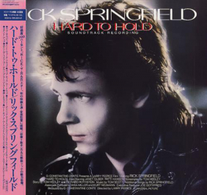 Rick Springfield (1984) ‎– Hard To Hold - Soundtrack Recording