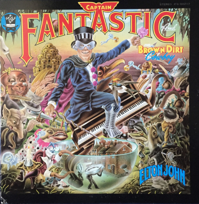 Elton John (1975) ‎– Captain Fantastic And The Brown Dirt Cowboy