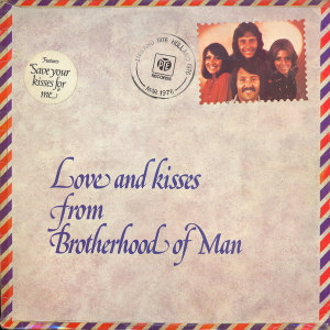 Brotherhood Of Man (1976) ‎– Love And Kisses From Brotherhood Of Man