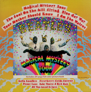 The Beatles (1967-2) ‎– Magical Mystery Tour