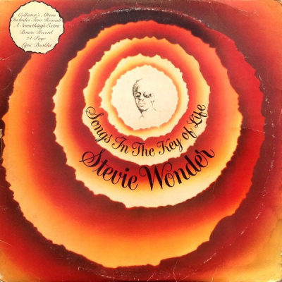 Stevie Wonder (1976) ‎– Songs In The Key Of Life