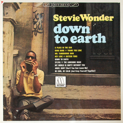 Stevie Wonder (1966) ‎– Down To Earth